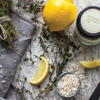 Dorset Flavoured Sea Salt - Lemon & Thyme Flavour