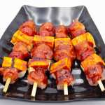 Chicken and Halloumi Cheese Kebabs
