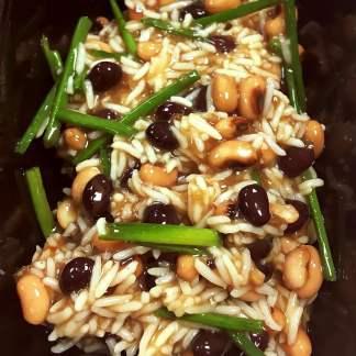 Maple, Orange and Chilli Bean Rice (V)