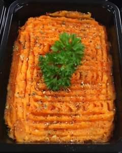 Spicy Mango Sweet Potato Mash