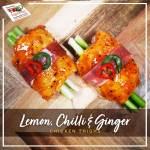 Lemon, Chilli and Ginger Chicken Thighs