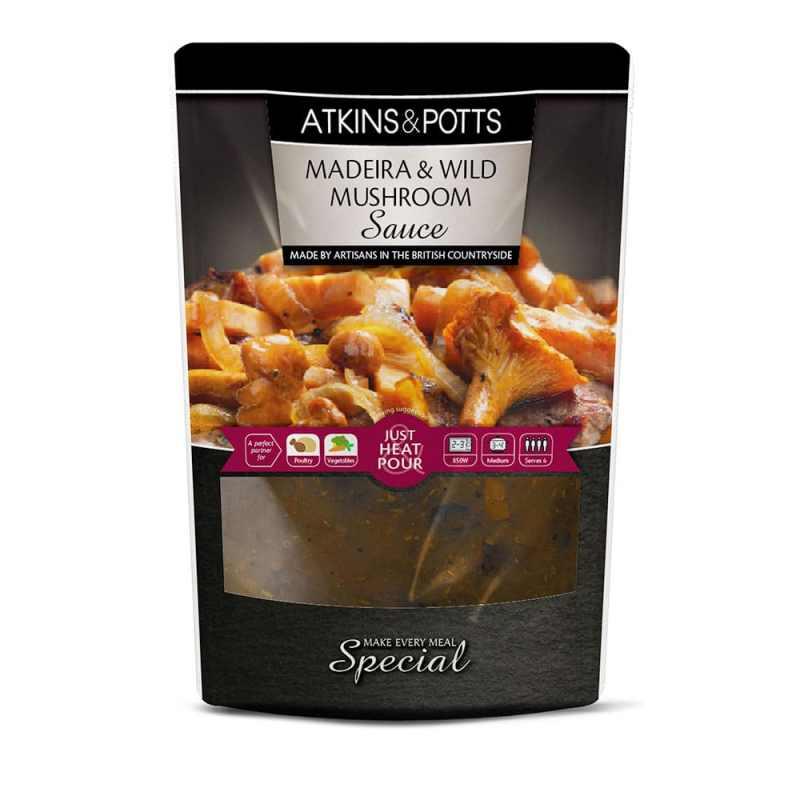 Atkins & Potts Madeira & Wild Mushroom Sauce