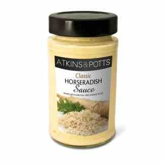 Atkins & Potts Classic Horseradish Sauce