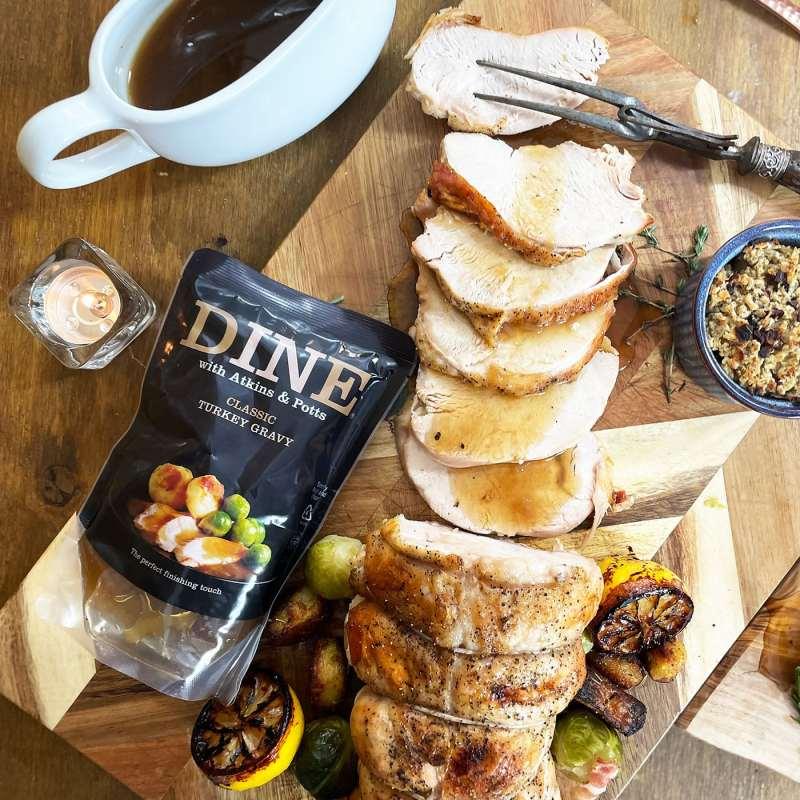 DINE IN with Atkins & Potts Turkey Gravy