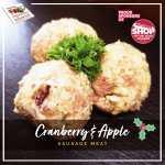 Cranberry & Apple Sausage Meat