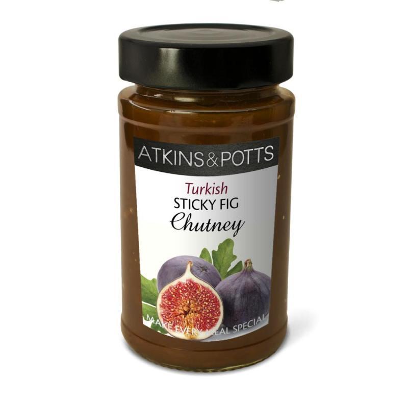 Atkins & Potts Sticky Fig Chutney