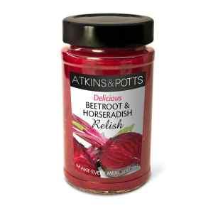 Atkins & Potts Beetroot and Horseradish Relish