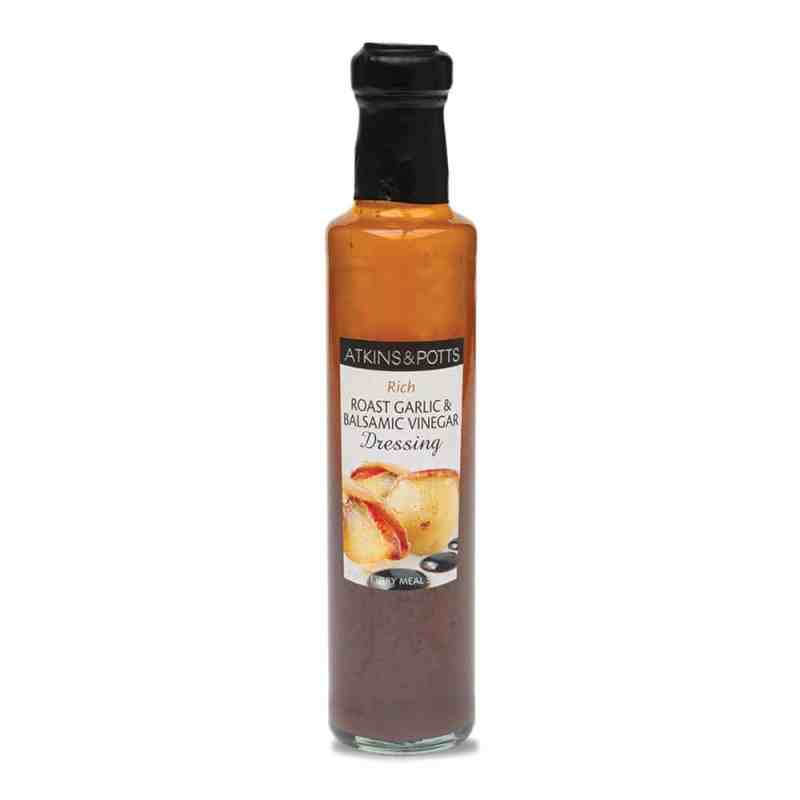 Atkins & Potts Roast Garlic & Balsamic Vinegar Dressing