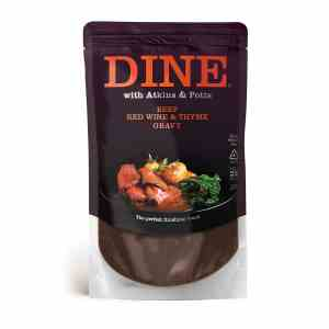 DINE IN with Atkins & Potts Beef Red Wine and Thyme Gravy