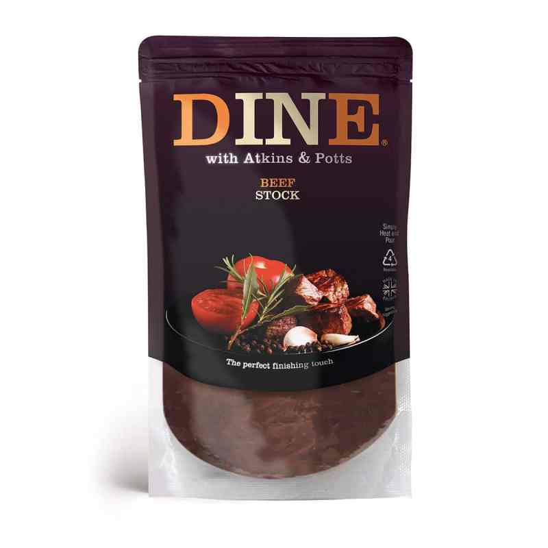 DINE IN with Atkins & Potts Beef Stock