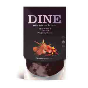 DINE IN with Atkins & Potts Red Wine & Juniper Sauce