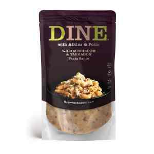 DINE IN with Atkins & Potts Wild Mushroom & Tarragon Pasta Sauce