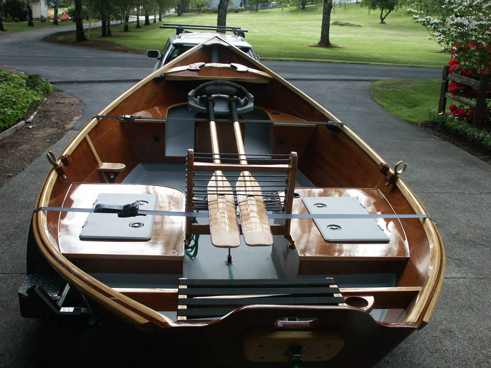 wood drift boats