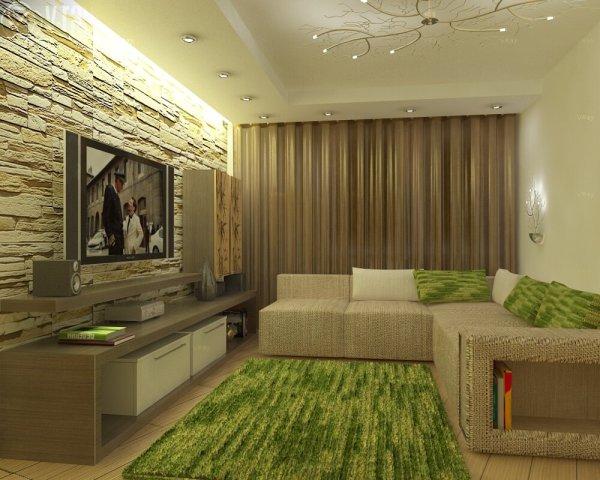 Интерьер в гостиную для квартиры 20 кв м, фото | Все о ...