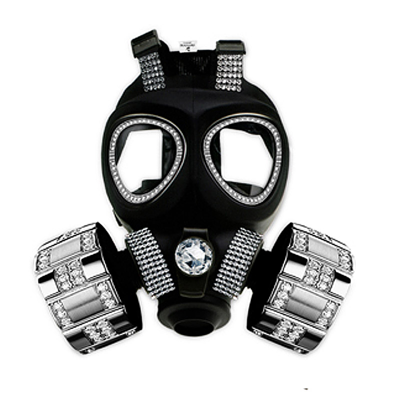 swarovski gas mask