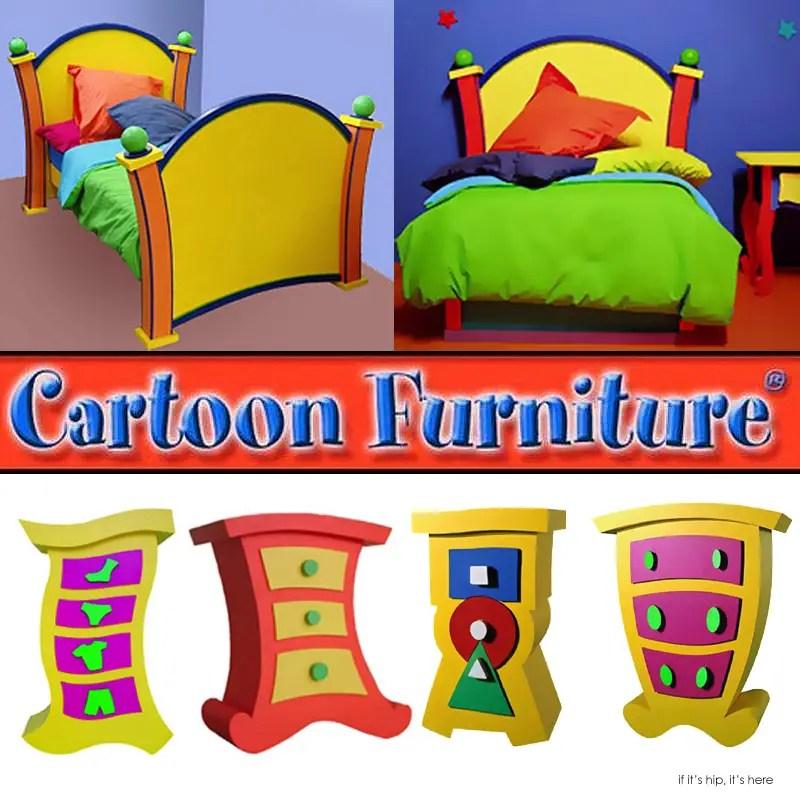 Cartoon Furniture For Kids