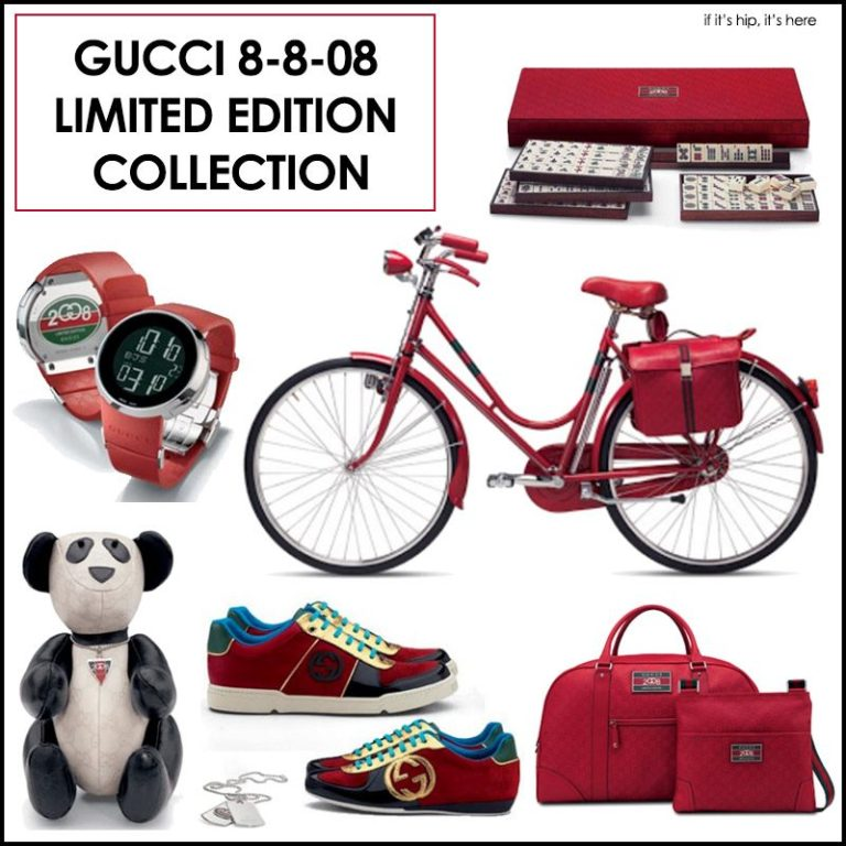 Gucci 8-8-08 Limited Edition