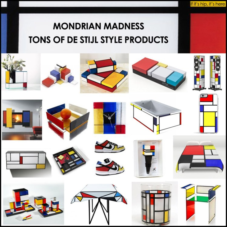 mondrian inspired products