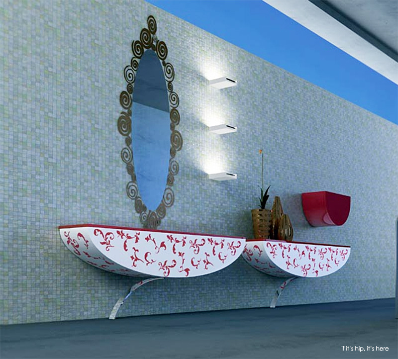 Nova Linea bathroom furniture