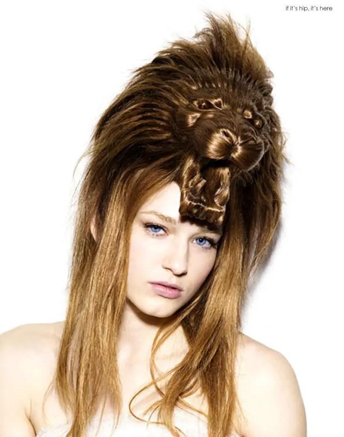 animal wig lion IIHIH 3