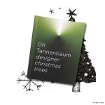 5th Christmas Tree Exhibition. Modern Xmas Tree Art From HfG Karlsruhe University of Arts and Design.