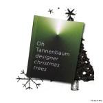 5th Christmas Tree Exhibition. Modern Xmas Tree Art From HfG Karlsruhe University of Arts and Design.