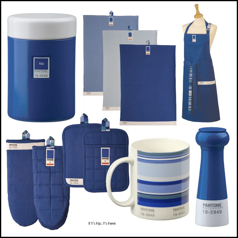 Pantone products for the kitchen