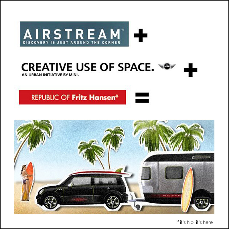 MINI Cooper Airstream and Fritz Hansen