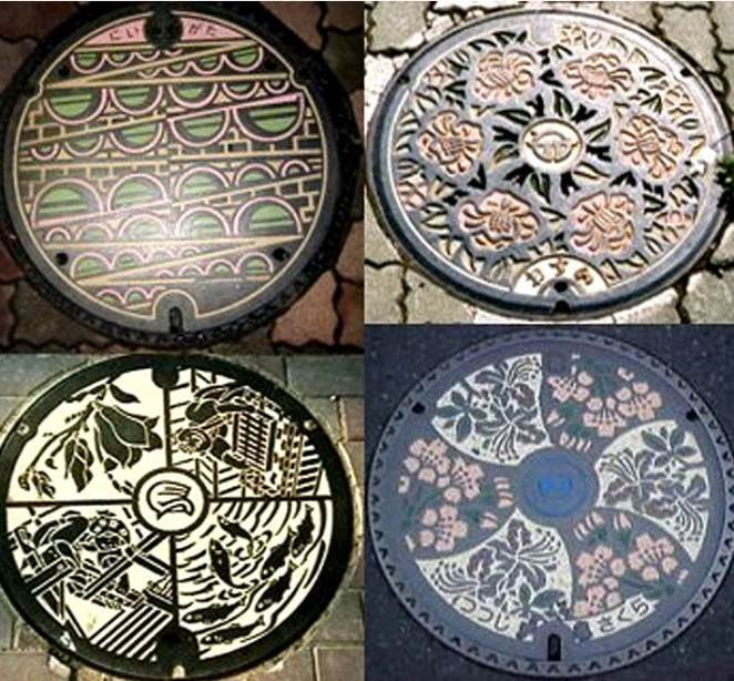 japanese manhole covers IIIHIH
