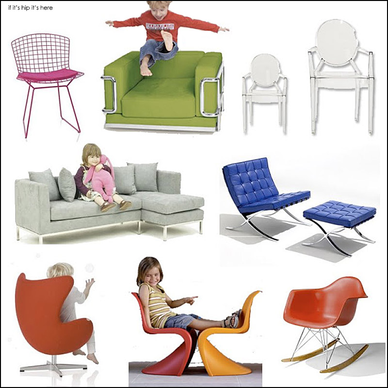 Mature Style For Your Mini Me: Modern Furniture Design Classics for ...