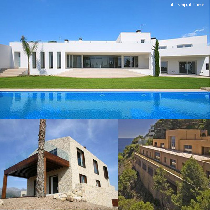 Modern in mallorca 3 minimalist mediterranean mansions for Minimalist homes for sale