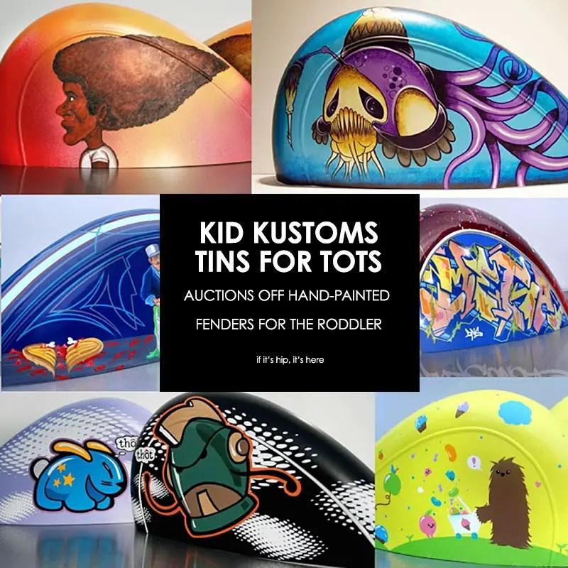 Kid Customs tins for tots
