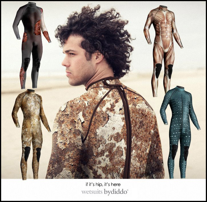 Witty Wetsuits by Diddo
