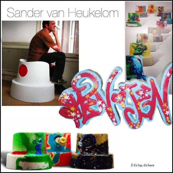 Tagger-inspired Art & Chairs By Sander van Heukelom