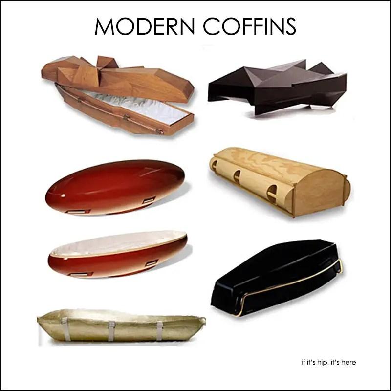 modern coffins