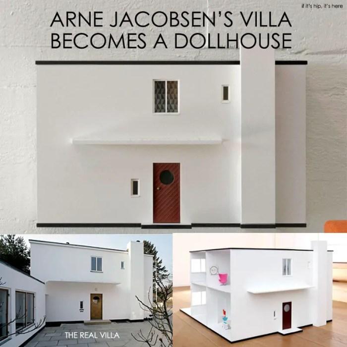 Arne Jacobsen Villa Dollhouse