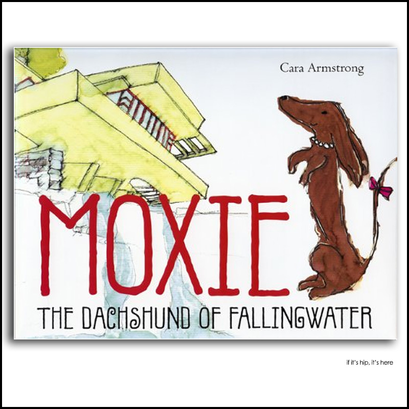 Moxie the Dachshund of Fallingwater