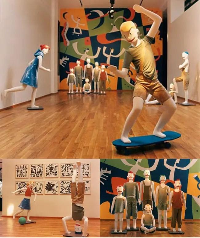 Michael Bartalos mannequins