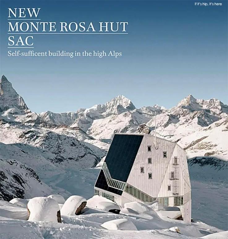 The New Monte Rosa Lodge