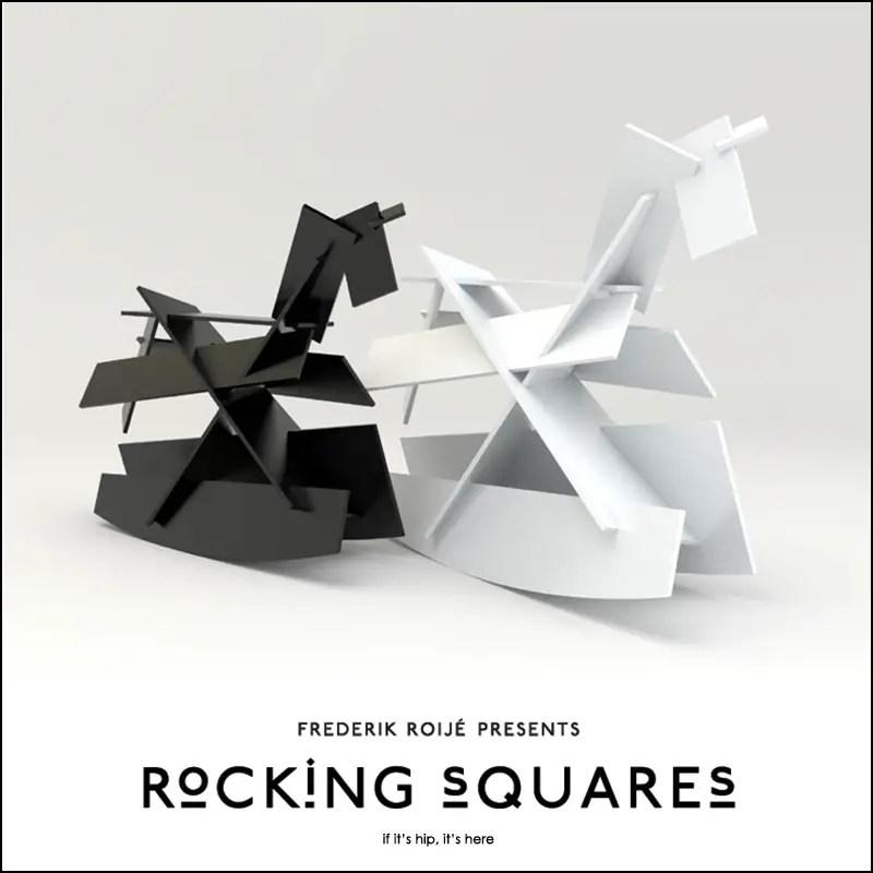 Modernist Rocking Horses By Frederik Roijé