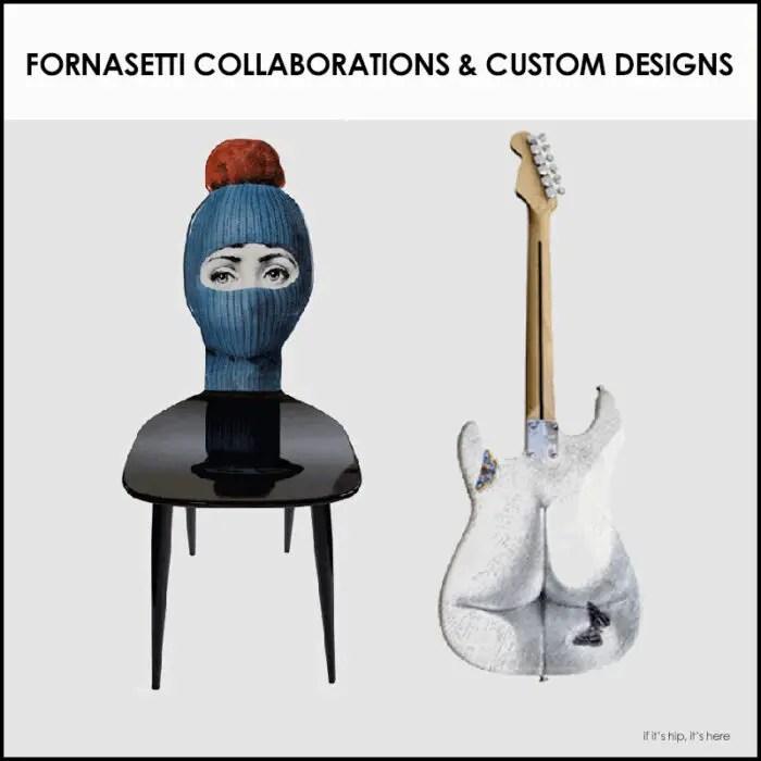 Fornasetti Collaborations & Custom designs