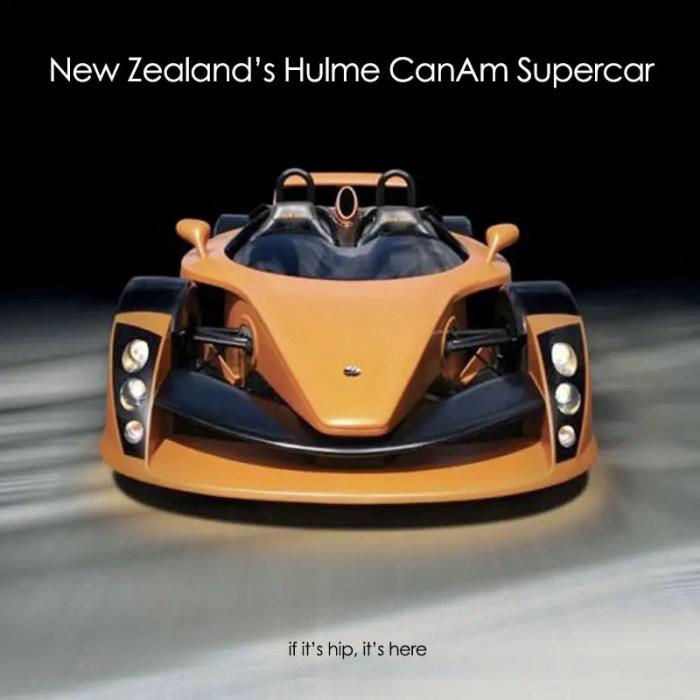 Hulme CanAm supercar