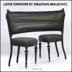When Computers And Classics Collide: Sebastian Brajkovic's Lathe Furniture
