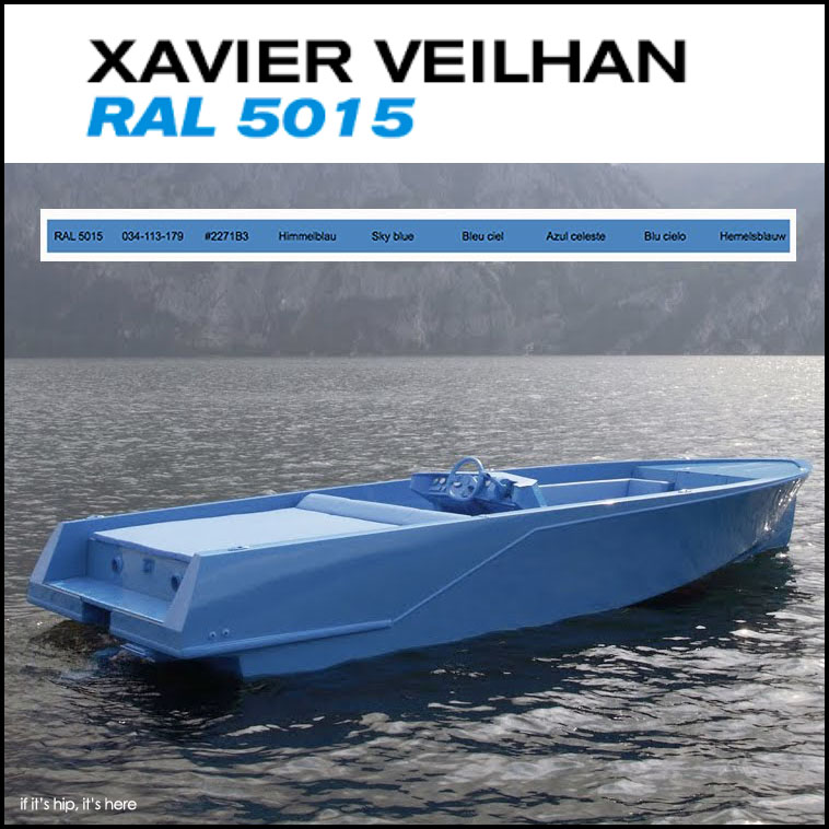 The RAL 5015 by Xavier Vielhan