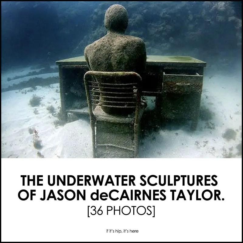 Underwater Sculptures Of Jason deCaires Taylor