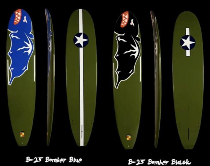 fighter plane surfboards