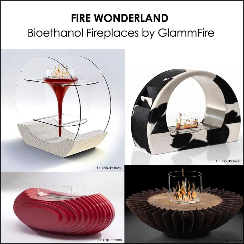 bioethanol fireplaces by glammfire