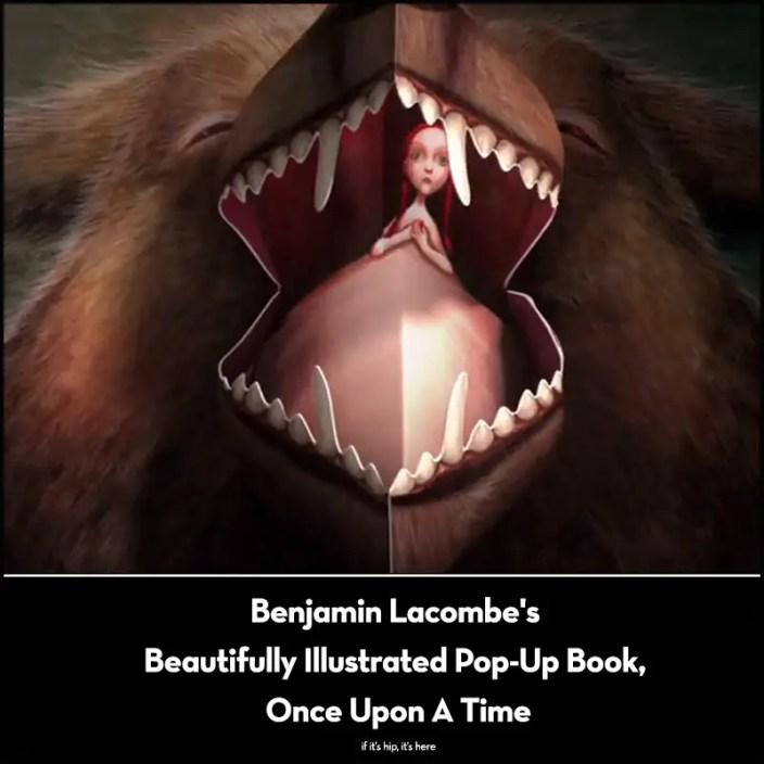 benjamin lacombe pop up book
