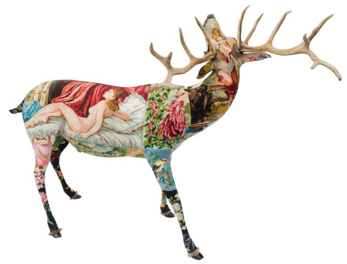 tapestry sculptures