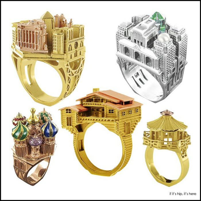 philippe tournaire architectural rings
